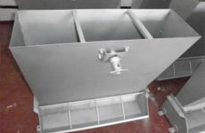 Controlled Pig Feed Trough