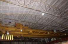 Overhaul repair of overhead traveling crane ??-5000, capacity: 50/10 ton