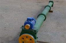 Screw conveyor, capacity 120 tph, length: 30 m