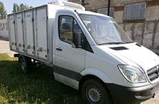 isothermal bread vans in Ukraine