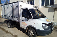 4-door bread isothermal van on 96 trays on the chassis of the car GAZ 3302
