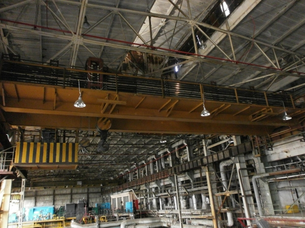 Overhaul repair of overhead traveling crane; load capacity 35/5.