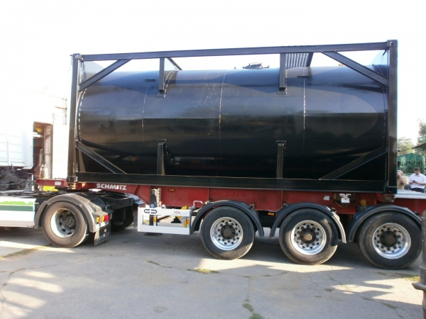 Tank Container for Transportation of Molasses
