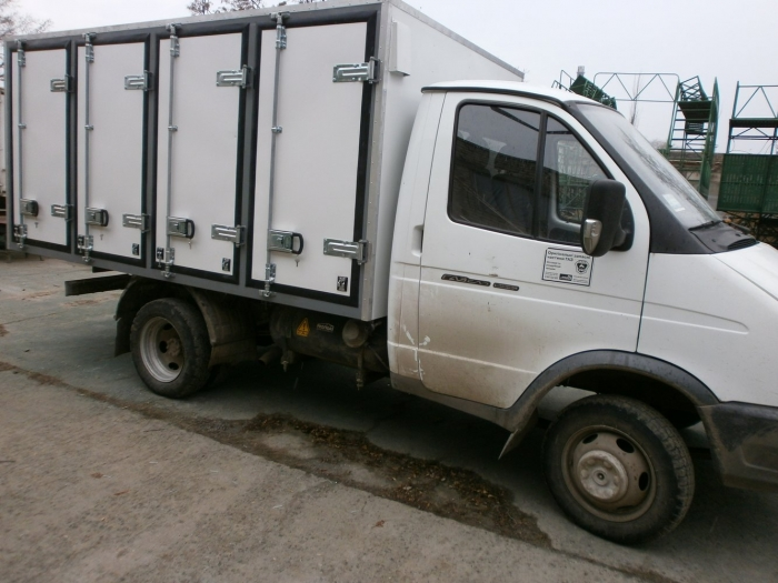 Insulated Bakery Delivery Van Box Body