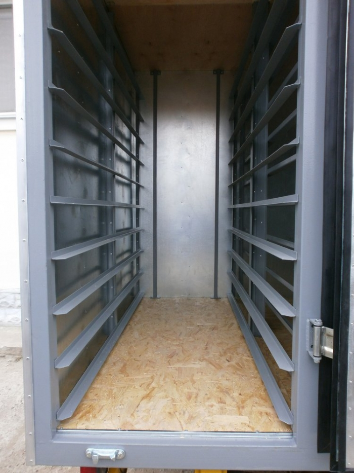 Insulated Bakery Delivery Van Box Body based on Mercedes Sprinter 313 light truck frame