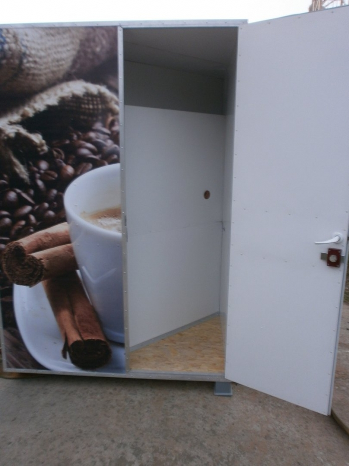 Kiosks for coffee and other drinks