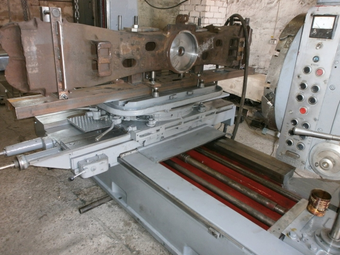 Overhaul repair of 'Horizontal Boring Mill, Model 2620'