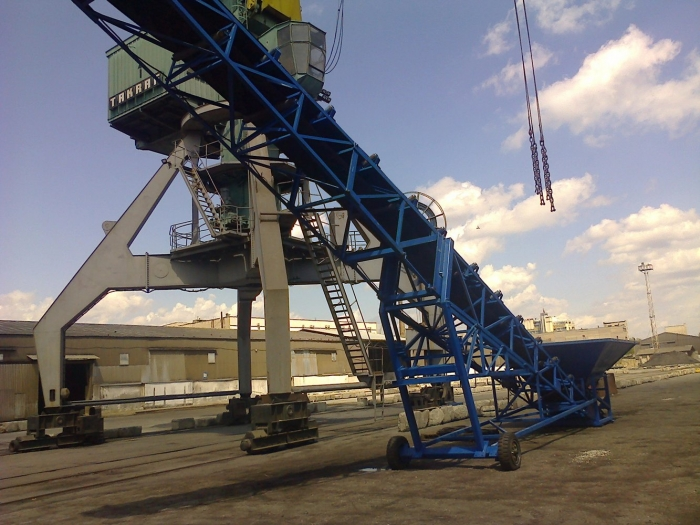 Our specialists have been repaired conveyor belt mobile, «Simon»